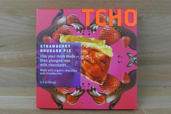 TCHO Strawberry Rhubarb Pairing