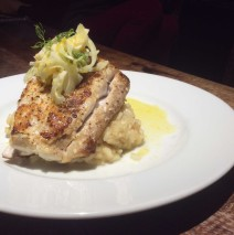Corvina with Meyer Lemon Risotto